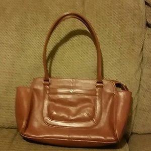 a vintage Etienne Aigner handbag